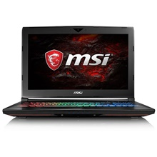 MSI laptop notebook GT62VR 7RE-417CN Intel i7 InteI7-7700HQ 16GB DDR4 128GB SSD 1TB GTX1070 8GB Windows10 AU,Black