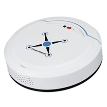 VRrobot Cleaner ACR003 Anti-collision System / Slim design / Sweep USB Automatic cleaning White