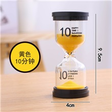 Children's brushing hourglass timer 1/3/5/10/30/60 three minutes time anti-fall creative ornaments small gifts