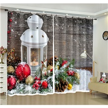 3D Print 3D Curtains Two Panels Curtain Curtain,118W×106'L ( US $70) ,Blue Light Blue