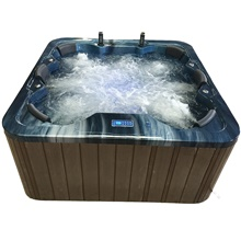 Outdoor spa tub whirlpool Massage bathtubs 6 people Freestanding Jacuzzi