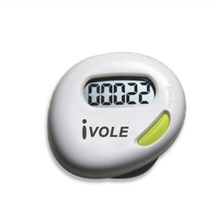 P-003 Electronic Pedometer Outdoor / Ultra Light (UL) / Youth Gravity Sensor Neoprene / Mixed Material Pure White Pure White