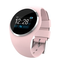 Q1 Smart Bracelet Smartwatch Heart Rate Monitor / Blood Pressure Measurement / Sports Gravity Sensor / Proximity Sensor / Heart Rate Sensor Mixed Material Black / White / Blushing Pink Blushing Pink