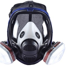 Gas Mask Safety Gear Gas Protection Waterproof Impact Resistant Adjustable Windproof Waterproof Fabric Spinning Cotton for Men's Women's Hunting Camping Team Sports Black / Blue Black / Blue
