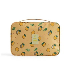 Polyester Pattern / Print Carry-on Bag Fruit Daily Black / Yellow / Gray / Unisex Yellow