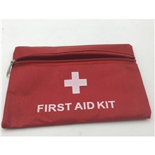 Oxford Cloth Pattern / Print / Zipper Emergency Survival Bag Outdoor Red Red