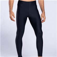 Men's Dive Skin Leggings Swimwear Breathable Quick Dry Swimming Water Sports Solid Colored Autumn / Fall Spring Summer / Winter / High Elasticity Black,S