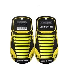 2pcs Silicone Shoelace Unisex All Seasons Sports & Outdoor / Casual Black / Dark Yellow / Dark Grey Dark Yellow,One Size