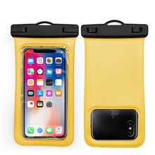 Pouch Bag for Waterproof Zipper 5.5 inch Silicon 10 m Light Yellow