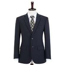 Navy Blue Fine Stripe Wool Custom Suit Pants ( US $10) ,XXS,Default Style(as seen on the photo),Standard style