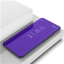 Mirror Smart View Case For Xiaomi Mi 8 9MI8 9 SE A2 Lite Flip Leather Stand Case For Xiaomi Mi8  A2 Lite Cover Mi 8 SE,Purple