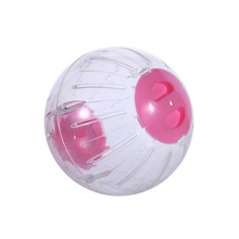 Mouse Hamster Ball Interactive Toys Adorable Plastic Shell Blue Pink Pink