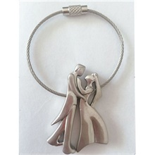 Keychain Sweet Ring Jewelry Silver For Daily Silver