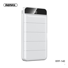 Remax 20000 mAh For Power Bank External Battery 5 V For 2 A For Battery Charger with Cable / Automatic Adjusted Current LED White