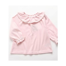 Baby Girls' Street chic Solid Colored Long Sleeve Sweater & Cardigan Blushing Pink / Toddler