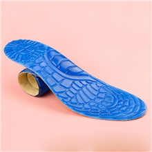 1 Pair Shock Absorption Insole & Inserts Gel Sole All Seasons Unisex Blue Blue,S