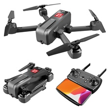 RC Drone SMRC s60 RTF 4CH 6 Axis 2.4G With HD Camera 1080 1080 RC Quadcopter Headless Mode / Access Real-Time Footage / Hover RC Quadcopter / Remote Controller / Transmmitter / 1 USB Cable Lead Mode 2 (Left Throttle Hand),With Camera,With Remote Controller,Black