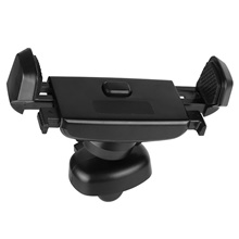 Universal Car Phone Holder with Vent Clip for Auto 360 GPS Mobile Phone Holder Black