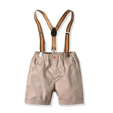 Baby Boys' Basic Solid Colored Shorts Khaki Khaki,9-12 Months(80cm)