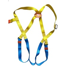 Harnesses Belay & Rappel Devices Climbing Protection seat belt Heat Resistant Fiber Special Material Climbing Outdoor Exercise Multisport Dong An Blue+Orange