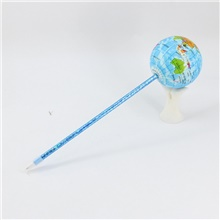 New PU / Plastic With Blue Pencil Lead Ballpoint Pure Manual Winding Craft Earth Modelling Pen For Office & School Supplies Vent / Relieve Pressure Gifts
