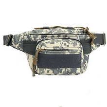 Fanny Pack Waist Bag / Pack Running Pack for Running Outdoor Exercise Outdoor Bike / Cycling Sports Bag Waterproof Portable Lightweight 600D Ripstop Running Bag Adults Gray White