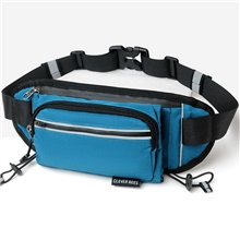 Fanny Pack Waist Bag / Pack for Running Outdoor Exercise Outdoor Sports Bag Waterproof Portable Durable Oxford Cloth Unisex Running Bag Adults