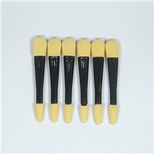 Professional Makeup Brushes 6pcs Soft New Design Comfy Wooden / Plastic for Eyeshadow Brush Black
