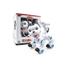 RC Robot Domestic & Personal Robots 2.4G PP (Polypropylene) Singing NO USB,Red / White