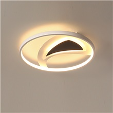 feimiao 2-Light 42 cm Circle Design Flush Mount Lights Metal Silica gel Painted Finishes LED / Modern 110-120V / 220-240V Warm White,110-120V