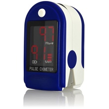 LITBest CMS50LD  Medical Portable Finger Pulse Oximeter blood oxygen Heart Rate Saturation Meter OLED Oximetro de dedo Saturometro Monitor Blue