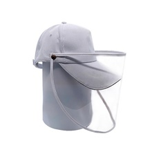 Women's Basic Polyester Full-face Protective Hat /Summer Outdoor Gardening / Foldable / Beach / Sunscreen Sun Hat Big Brim Baseball Cap White,One-Size