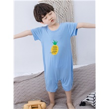 Kids Boys' Print Sleepwear Blue