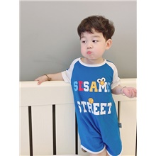 Kids Boys' Print Sleepwear Yellow Blue,9-12 Months(80cm)