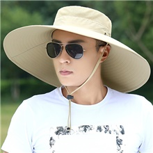 Adults' Fisherman Hat Bucket Hat Hat Summer Outdoor Fishing Cotton UV Sun Protection Protective Safety Personal Protection Hat / Men's