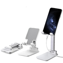 Cell Phone Stand Cafele Desktop Foldable Height Adjustable Phone Holder Tablet Stand For Samsung Galaxy Ipad Mini iPhone X Xr Xs max 11 PRO All Smartphones Kindle Tablet Under 12.9 Inch