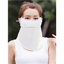 Women's Basic Balaclavas - Solid Colored White