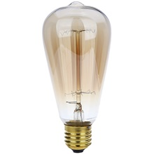 1pc 40 W ST64 Warm White 3000 k Decorative Incandescent Bulb 220-240 V 220V