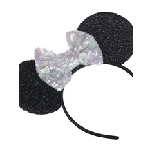 Infant Unisex Geometric Hair Accessories White / Black / Blue White