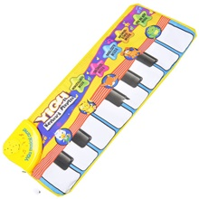 Musical Toy Keyboard Toy Music Adorable Education Boys and Girls Kids 1 pcs Graduation Gifts Toy Gift Yellow