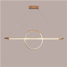 120 cm Circle Design Pendant Light Aluminum Sputnik  Mini Painted Finishes Artistic  Nordic Style 110-120V  220-240V Warm White,110-120V,Rose Gold
