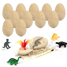DIY Toys Dig Kit Game Dinosaur Egg Jurassic Dinosaur Creative STEAM Toy Fun Educational For Kid's Boys and Girls Party Gift 12 pcs 12 pcs