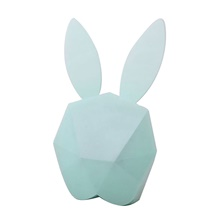 Bunny Rabbit LED Light Alarm Clock Night Light Smart Induction Adorable with USB Port Touch USB 1pc USB,Blue,Rabbit