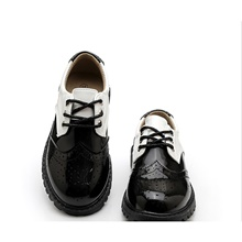 Boys' Comfort PU Oxfords Little Kids(4-7ys) Black Summer Black,US9.5 / EU26 / UK8.5 Toddle