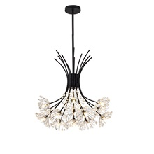 42 cm Sputnik Design Chandelier Metal Mini Painted Finishes Modern  Nordic Style Generic Warm White,Generic,Black
