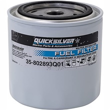 Quicksilver water separation fuel filter element White
