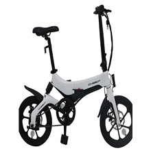 [EU Warehouse In Stock] ONEBOT S6 Portable Folding Electric Moped Bicycle 36V 250W 3 Modes Folding Electric Bike Moped 25km/h Top Speed Max Load 120kg Electric Bicycle E-bike Only Blcak In Stock White ( US $165)