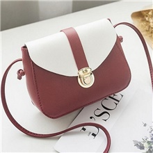 Women's Zipper PU Leather DIY Handmade 2020 Solid Color Wine / White / Black Wine