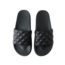Women's Slippers House Slippers Casual Plastic Shoes Black,CN(36-37) / US6 / EU36 / UK4
