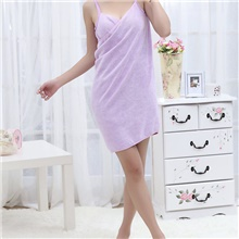 New Home Textile Towel Women Robes Bath Wearable Dress Womens Lady Fast Drying Beach Spa Magical Nightwear Sleeping Light Purple